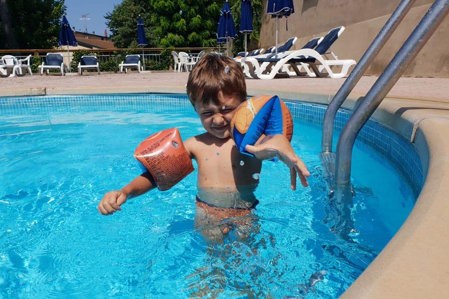 residence toscana mare con piscina